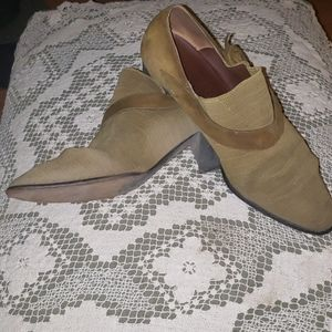Olive Green Shoes Size 40 (US 9)